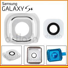 Cristal Camara Samsung Galaxy S6 blanco marco lente repuesto G920f blanca