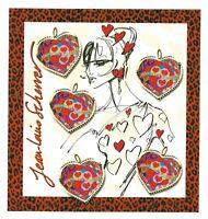 Bloc Feuillet 2006 N°93 Timbres France - Saint Valentin Jean Louis Scherrer