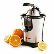 Eurolux Easy-to-Use and Clean Stainless Steel Motorized Citrus Fruit Juicer, NEW
