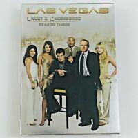 Las Vegas - Season 3 Uncut and Uncensored (DVD, 5-Disc Box Set, Region 1)