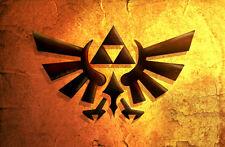 Super Nintendo Snes N64 Legend of Zelda Game TRI FORCE LOGO Fridge Magnet #40