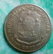 1972 Philippine 1 PISO Jose Rizal Shield of Arms Republika ng Pilipinas coin