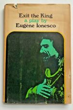 Exit the King - Eugene Ionesco - 1963