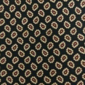Black Paisley CERRUTI Silk Tie