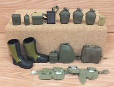 Multi Brand / Unbranded Vintage Style Mixed Lot of G.I. Joe Accessories **READ**