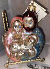 Fantasy Collection Poland Ornament Nativity Scene Mary Joseph Jesus