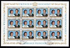Luxembourg - 1981 Royal wedding - Mi. 1036 KB VFU