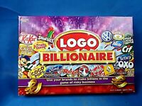 Logo Billionaire Board Game Boxed Family Fun Quiz 2-6 Players by Drumond Park