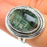 Seraphinite 925 Sterling Silver Ring Size 7.5 Ana Co Jewelry R45333F
