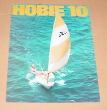 1974 Hobie Cat 10 Sales Brochure