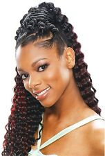 MODELMODEL SYNTHETIC HAIR CROCHET BRAIDS GLANCE SOFT DEEP CURL