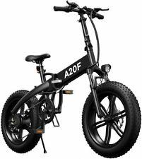 """20"""" Fat Bike Elettrica 500w 40km/h Bicicletta Elettrica Pieghevole Bici ebike"""
