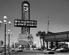 NEW FRONTIER HOTEL & CASINO, LAS VEGAS Glossy 8x10 Photo Print Strip Poster