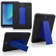 """Samsung Galaxy Tab S3 9.7"""" Shockproof Hybrid Protective Silicone Hard stand Case"""