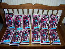 Monster High FREAKY FAB BEAUTY SET Lot of 12 Sets (Lips, Nails, Eyes) Scary Cute