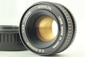 Tested MINT w/Case] MINOLTA C.E.ROKKOR 50mm f/2.8 Enlarging Lens M39 JAPAN 268
