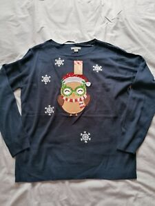 Ladies Primark Christmas jumper size L 14-16 NWT