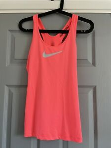 Pink Nike Pro Sport Top. Size S
