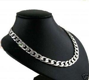 """Men's 100% True Titanium Jewelry Necklace 10"""""""