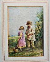 Attributed to Myles Birket Foster Watercolour Painting