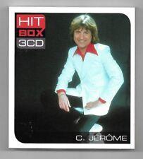 COFFRET 3 CD / C. JEROME - HIT BOX 3 CD / 45 TITRES COMPILATION 2012
