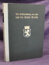 Die Städteverordnung von 1808 und die Stadt Berlin 1908 OH Pergament Politik js