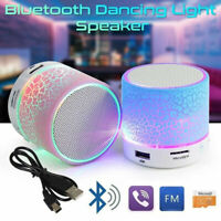 Mini Bluetooth Speaker Wireless Bass Portable Indoor Outdoor Stereo Loudspeaker