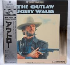 THE OUTLAW JOSEY WALES - Clint Eastwood - Japanese original LASER DISC