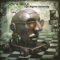 GOV'T MULE - LIFE BEFORE INSANITY 2 VINYL LP NEW+