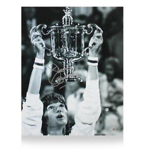 Jimmy Connors Signed Photo: US Open Champion Autograph