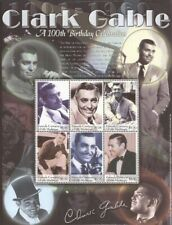 Grenada Grenadines - 2001 Clark Gable Set of 2 6 Stamp Sheets #2300-1