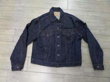 1960s vintage LEVIS indigo denim BIG E jean jacket 505-0217 size 44 large