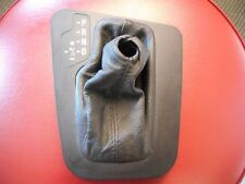 BMW OEM E46 AUTOMATIC TRANSMISSION GEAR SHIFTER BLACK TRIM SELECTOR AUTO COVER