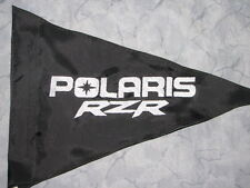 Custom POLARIS RZR Triangle Safety Flag for ATV UTV JEEP Dirtbike Dune Whip Pole