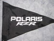 Custom POLARIS RZR Triangle Safety Flag for ATV UTV JEEP Dirtbike Dune Whip Pole