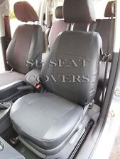 VW CADDY MAXI LIFE 7 SEATER SEAT COVERS 89A + LEATHERETTE TRIM MADE TO MEASURE