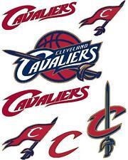 Cleveland Cavaliers Scrapbooking Craft Sticker Sheet Set #1