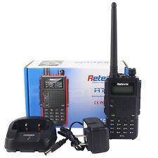 HOT Walkie-Talkie Retevis RT5 Dual Band UHF+VHF 7W128CH 1750Hz Two Way FM Radio!
