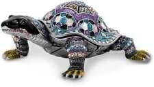 Bejeweled Blau Turtle Schmuckkästchen