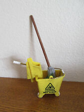 WWE WWF Jakks Pacific Mop & Bucket Weapon Accessory For Wrestling Action Figures