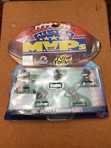 DENVER BRONCOS All Star MVP 1997 NFL Play Footlball 5 Poseable Figures - Sealed