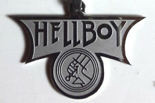 "Hellboy Movie Logo Etched 1.5"" Necklace w/Silver Chain- Mailed from Usa"