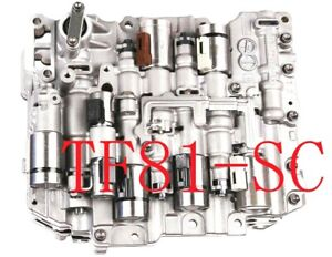 Rebuilt TF-81SC AF21B Valve Body W / Solenoids 05up Ford Fusion Mercury Milan