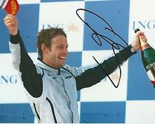 Jenson Button signed 10x8 Image A photo UACC Registered dealer