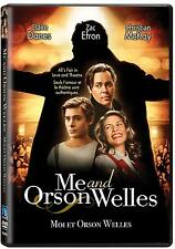 Me and Orson Welles (DVD) Zac Efron, Christian McKay, Claire Danes NEW