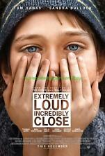 EXTREMELY LOUD AND INCREDIBLY CLOSE MOVIE POSTER DS TOM HANKS SANDRA BULLOCK