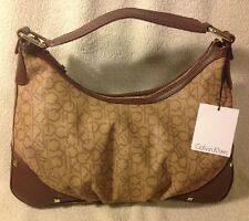 NEW CALVIN KLEIN CK HANDBAG $148.00 AUTHENTIC Hudson Logo Hobo CK H2ACJ059