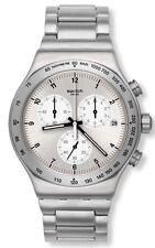 Swatch DESTINATION ZURICH Stainless Steel Chronograph Mens Watch YVS433G