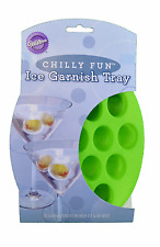 Wilton Silicone Garnish Ice Cube Trays Home Bar Party Drinks  - Olives