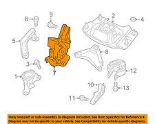 VOLVO OEM 04-11 S40 Engine Transmission Mounting-Front Bracket 8670393